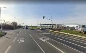Křižovatka u Řepova na silnici I/16. Foto.: Google Street View