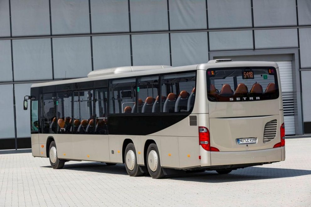 Autobus Setra S 418 LE business. Foto: Icom