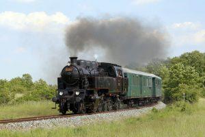 Parní lokomotiva 433.001 Skaličák z roku 1948. Pramen: České dráhy
