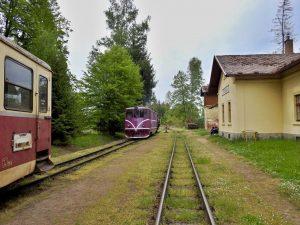 Vlaky JHMD ve Střížovicích. Foto: JHMD