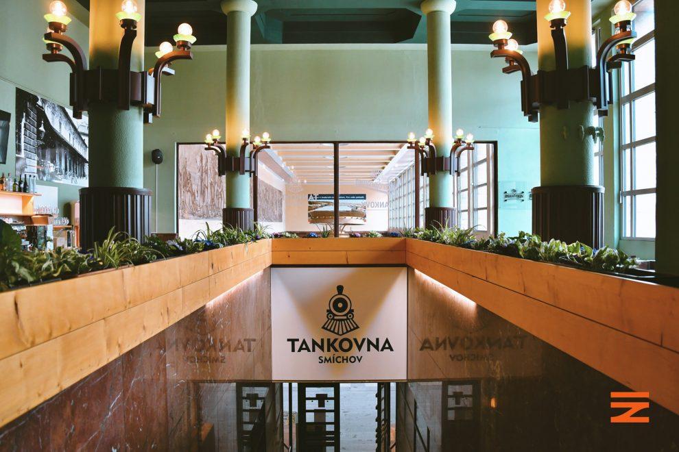Nová restaurace na Smíchovském nádraží. Pramen: FB Správy železnic