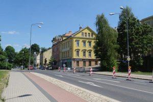 Ulice 5. května v Jablonci nad Nisou. Foto: Magistrát města Jablonce nad Nisou