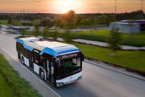 Vodíkový autobus Solaris Urbino 12, ilustrační foto. Pramen: Solaris