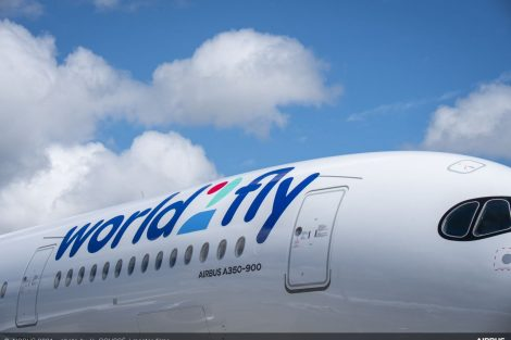 A350-900 v barvách World2Fly. Foto: Airbus