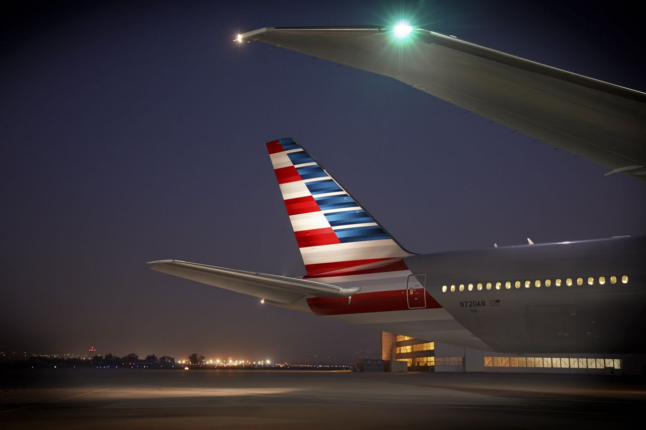 Boeing 777-300. Foto: American Airlines