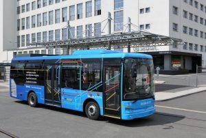 Nový autobus D'CITY. Foto: Škoda Transportation
