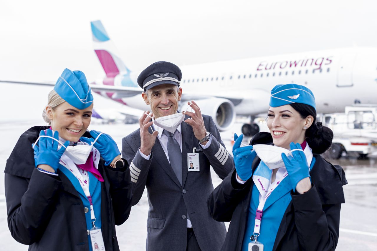 Posádky Eurowings. Foto: Eurowings