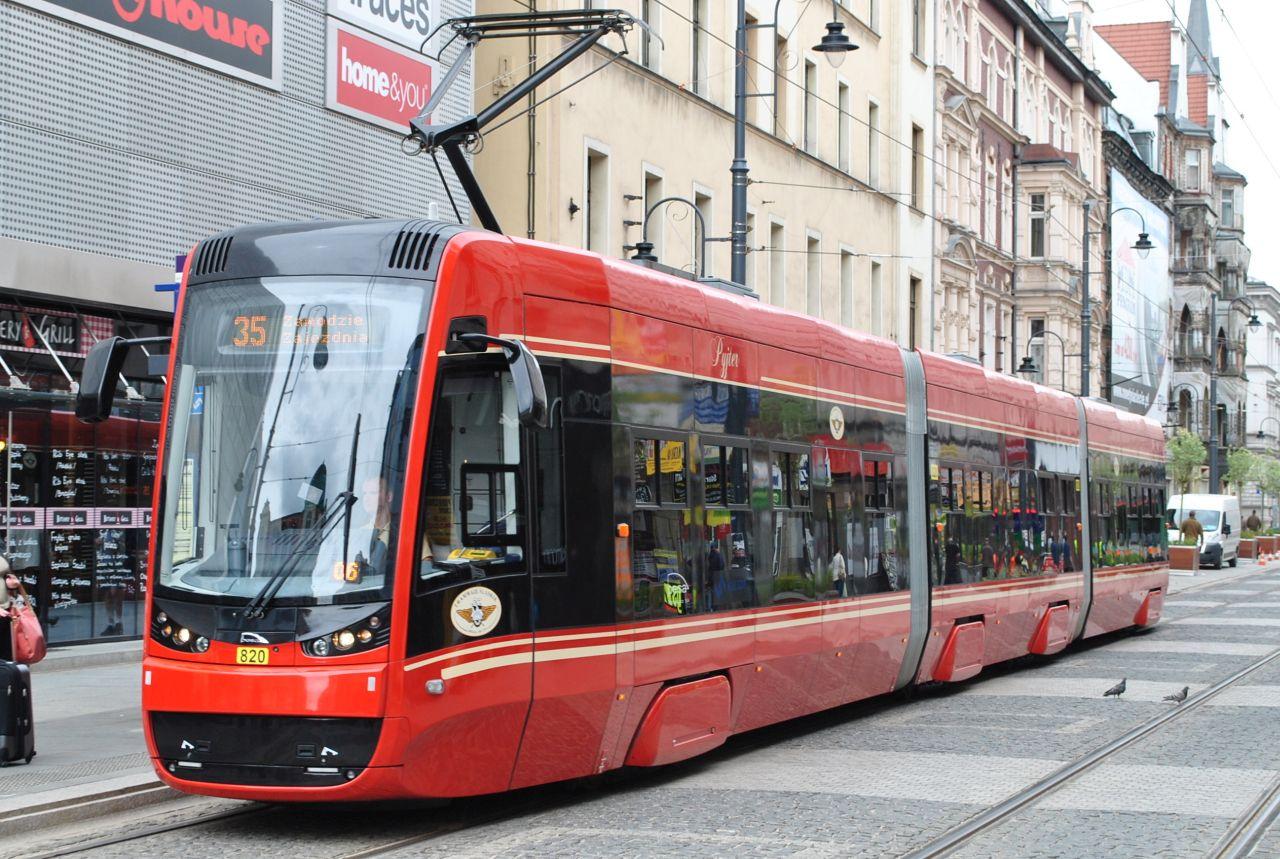 Tramvaj Pesa Twist v Katovicích. Foto: Marek Mróz / Wikimedia Commons