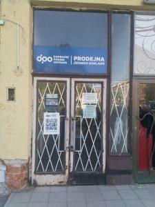 Původní prodejna jízdenek v Porubě. Pramen: DPO