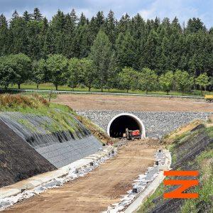 Tunel Deboreč je 660 metrů dlouhý. Pramen: Správa železnic