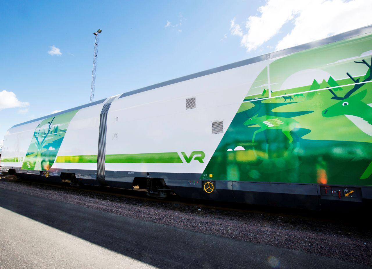 Autovozy pro finské dráhy. Foto: VR
