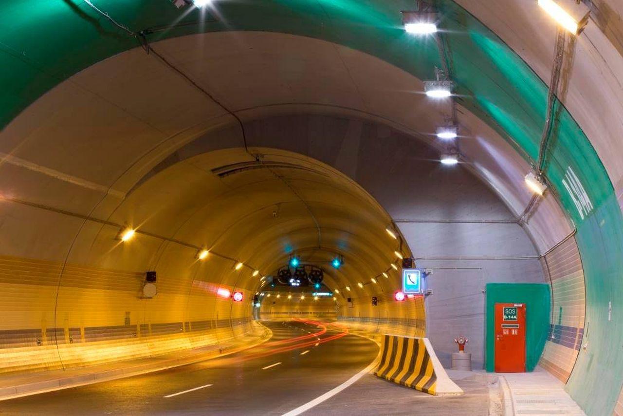 Vjezd do tunelu Blanka. Foto: TSK