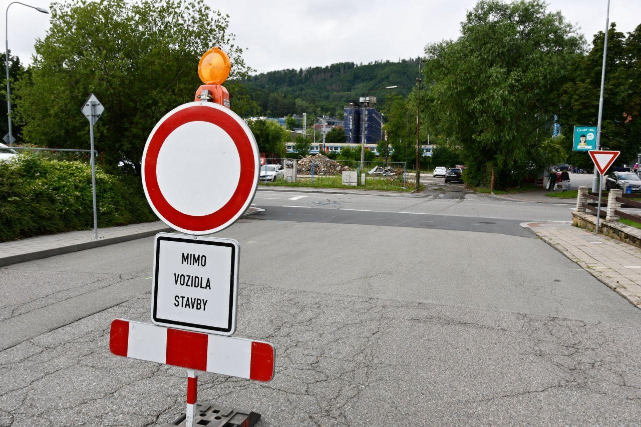 Zahájení stavby nového mostu v Blansku. Foto: Blansko.cz