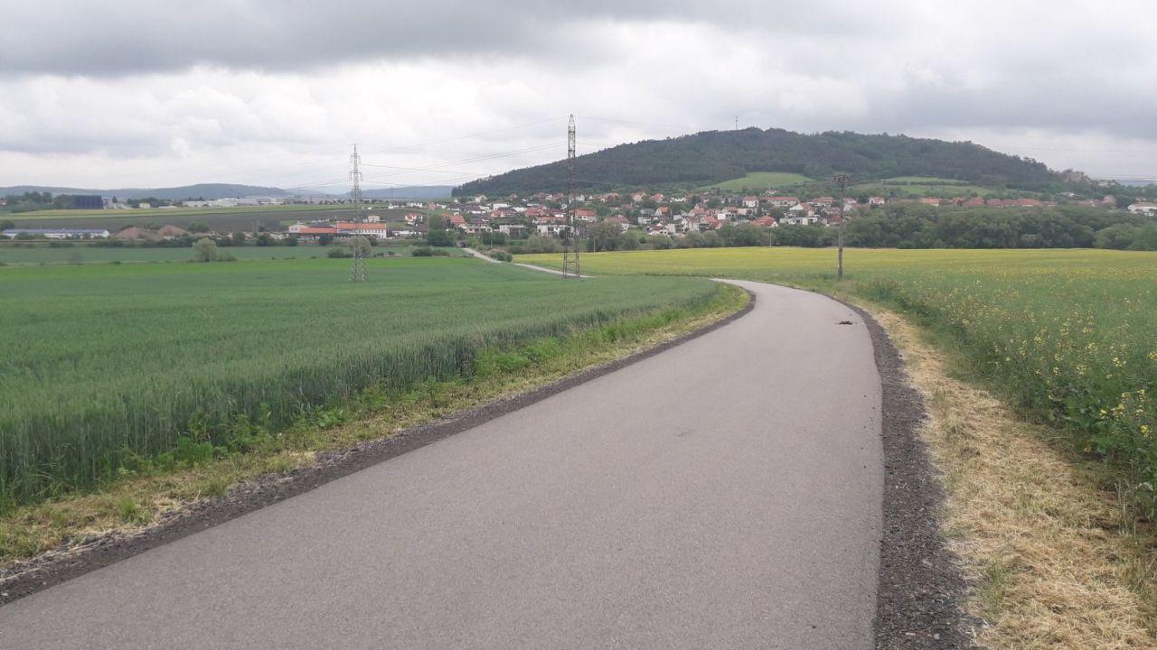 Trasa obchvatu Čebína. Foto: SÚS JMK