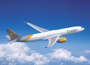 Airbus A330-900 v barvách Condoru. Foto: Condor