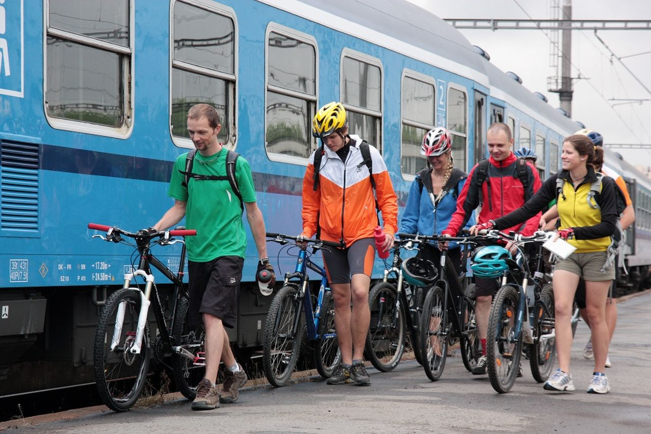 Přeprava jízdních kol s Českými drahami. Foto: ČD