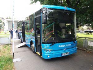 Autobus Škoda D'CITY. Autor: Zdopravy.cz/Jan Šindelář