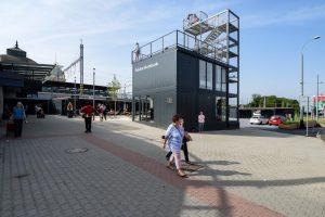 Nové infocentrum s vyhlídkou u plzeňského hlavního nádraží. Foto: M. Pecuch / Plzen.eu