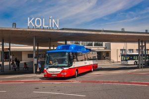 Autobusové nádraží Kolín. Pramen: ROPID