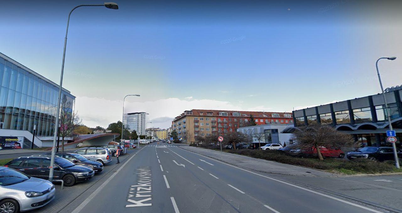 Ulice Křížkovského v Brně. Foto: Google Street View
