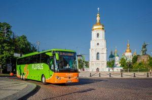 Autobus FlixBusu v Kyjevě. Foto: FlixBus