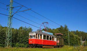 Tramvaj mezi Libercem a Jabloncem nad Nisou. Foto: DPMLJ