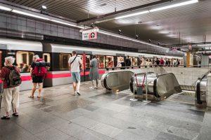 Pražské metro. Foto: PID