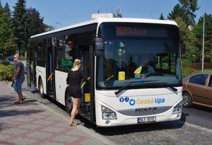 Autobus MHD Česká Lípa. Foto: Česká Lípa