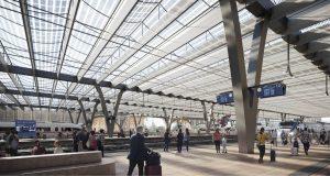 Vítězný návrh nového hlavního nádraží v Brně od nizozemského studia Benthem Crouwel Architects. Pramen: Město Brno