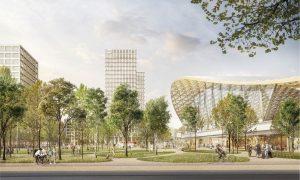 Brno hl. n., 2. místo: Sdružení Pelčák a partner architekti - Müller Reimann Architekten