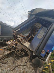 Srážka vlaků v Němčicích nad Hanou.  Ilustrační foto: Správa železnic