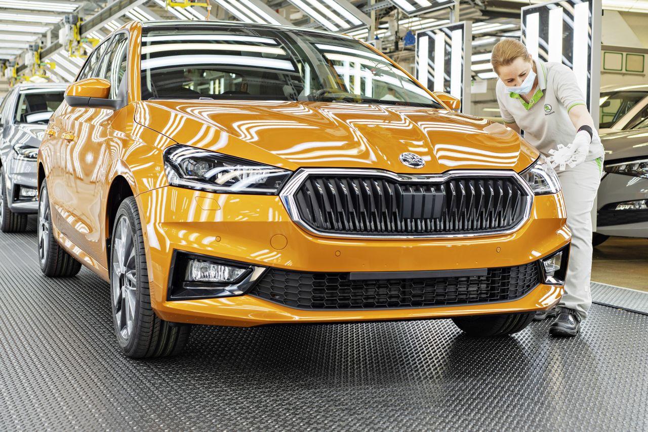Čtvrtá generace modelu Škoda Fabia. Foto: Škoda Auto