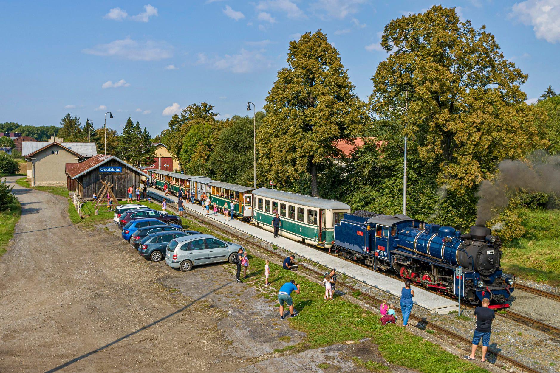 Nádraží v Osoblaze. Foto: Moravskoslezský kraj
