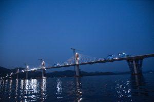 Nový most na Pelješac. Foto: twitterový účet Andreje Plenkoviče