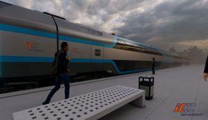 Vizualizace podoby nových souprav pro PKP Intercity. Foto: PKP