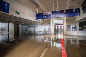 Povodně v Severním Porýní - Vestfálsku. Foto: DB AG