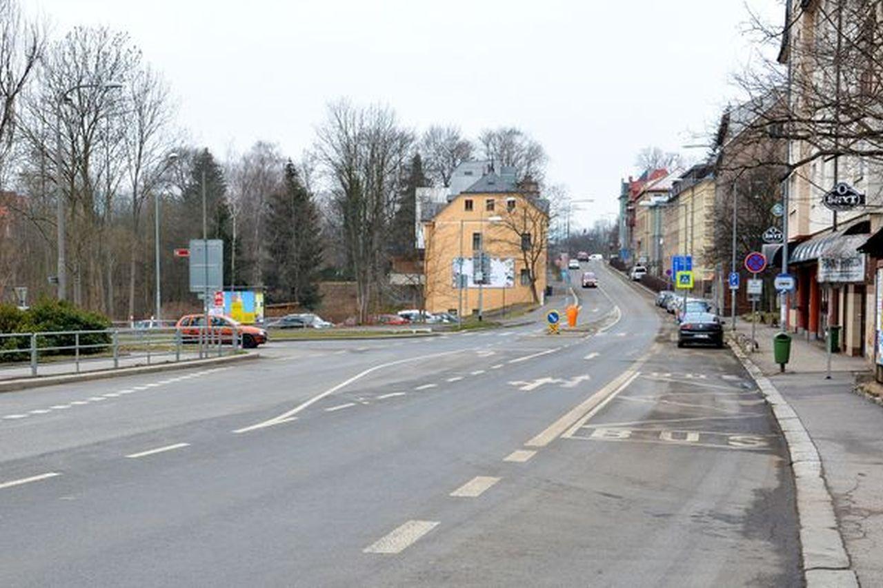 Sokolská ulice v Liberci. Foto: Liberec.cz