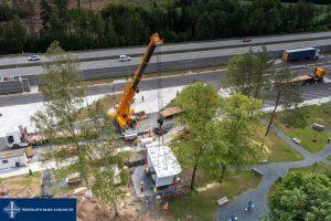 Nová dálniční odpočívka na D1 Studený. Foto: ŘSD
