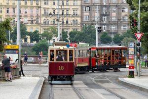 130. výročí zahájení provozu první elektrické tramvaje v Praze. Foto: Petr Hejna / DPP