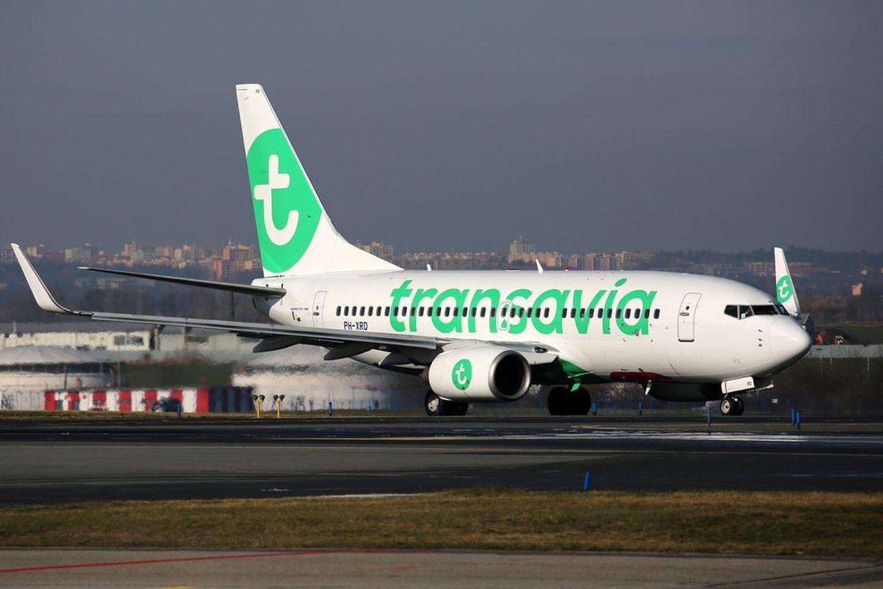 Boeing 737-800 společnosti Transavia. Foto: Letiště Praha