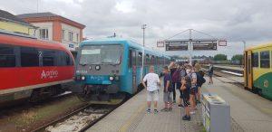 Vlaky Arrivy a Českých drah v Turnově. Foto: Jan Sůra / Zdopravy.cz