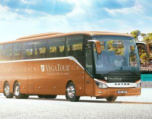 Autobus Setra společnosti Vega Tour. Foto: Vega Tour