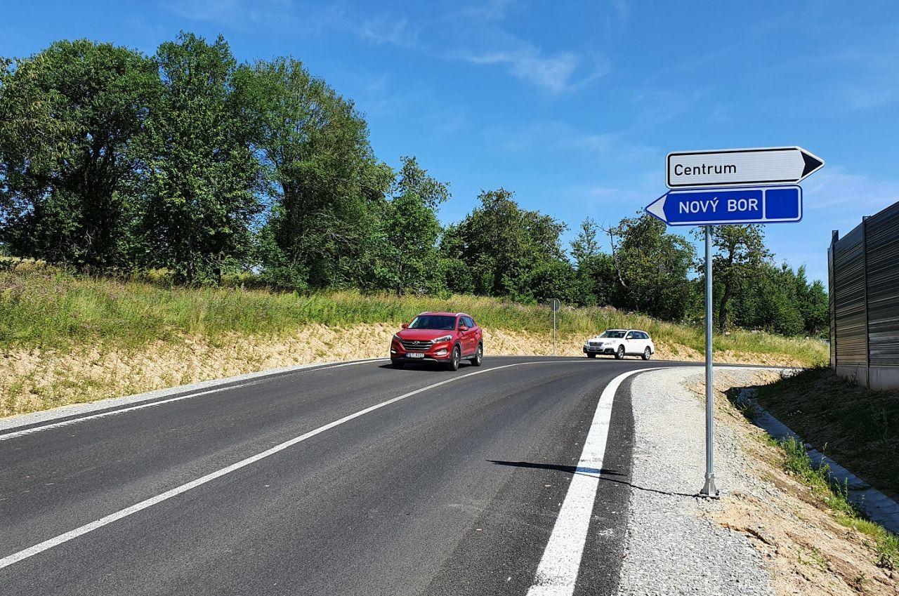 Nový obchvat Zákup. Foto: Liberecký kraj