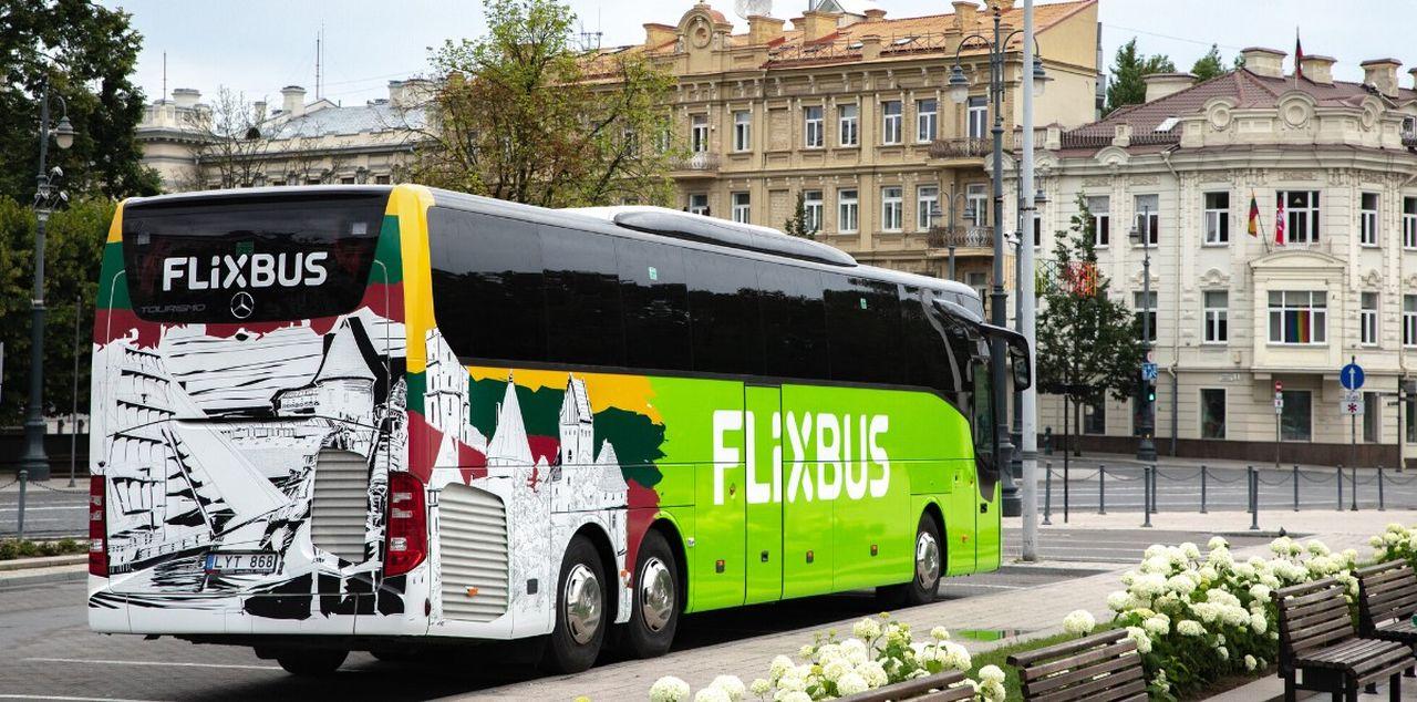 Autobus FlixBus v Tallinu. Foto: FlixBus