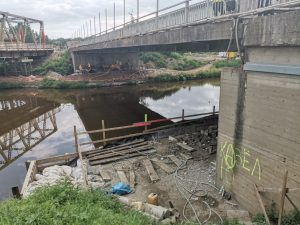 Modernizace mostů přes kanál Troja - Podbaba. Pramen: ŘVC