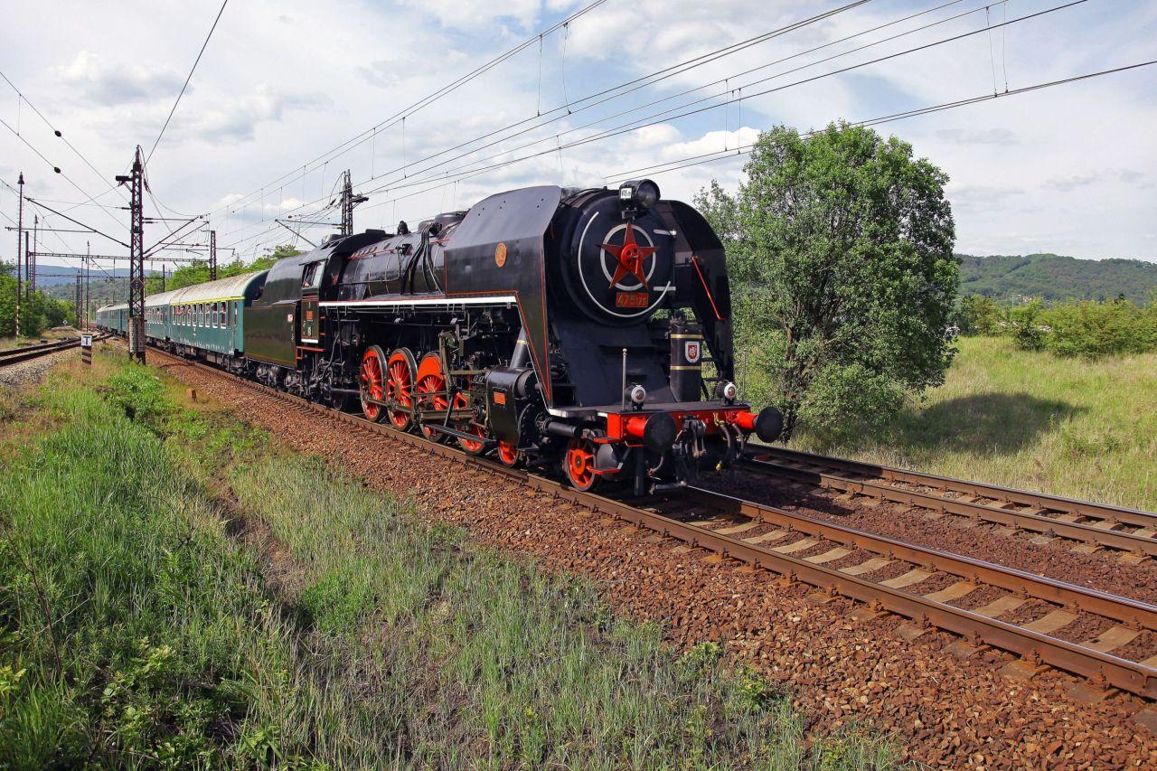 Parní lokomotiva Šlechtična. Foto: ČD