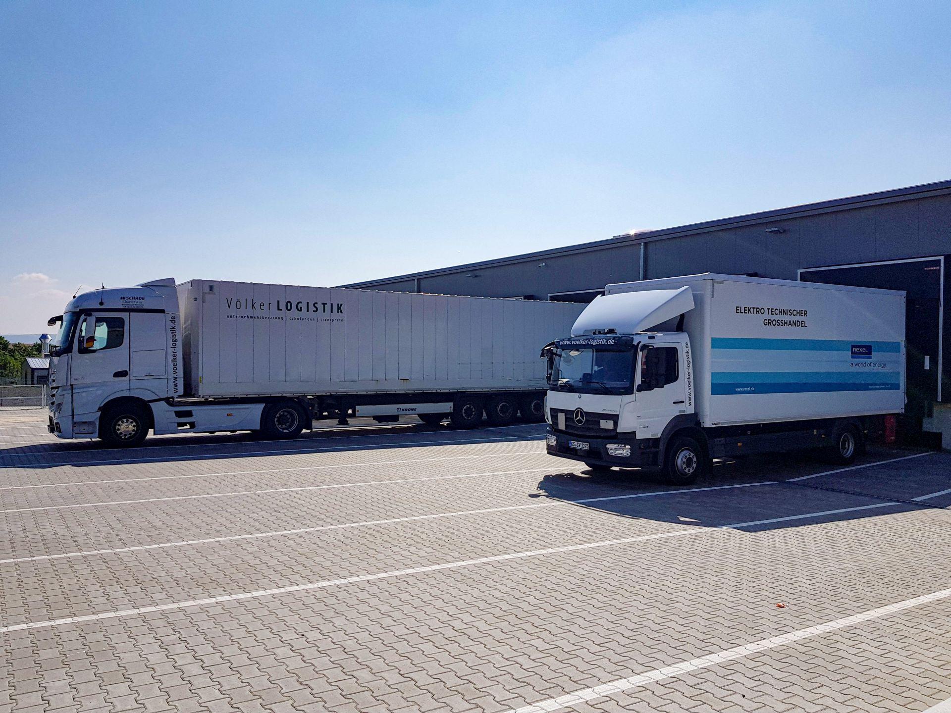 Vozidla společnosti Völker Logistik. Pramen: VCHD Cargo