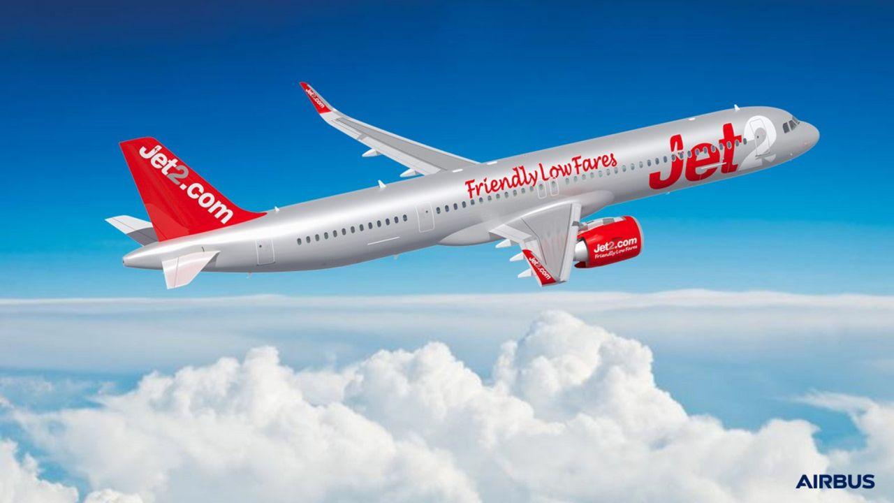 A321neo v barvách Jet2.com. Foto: Airbus