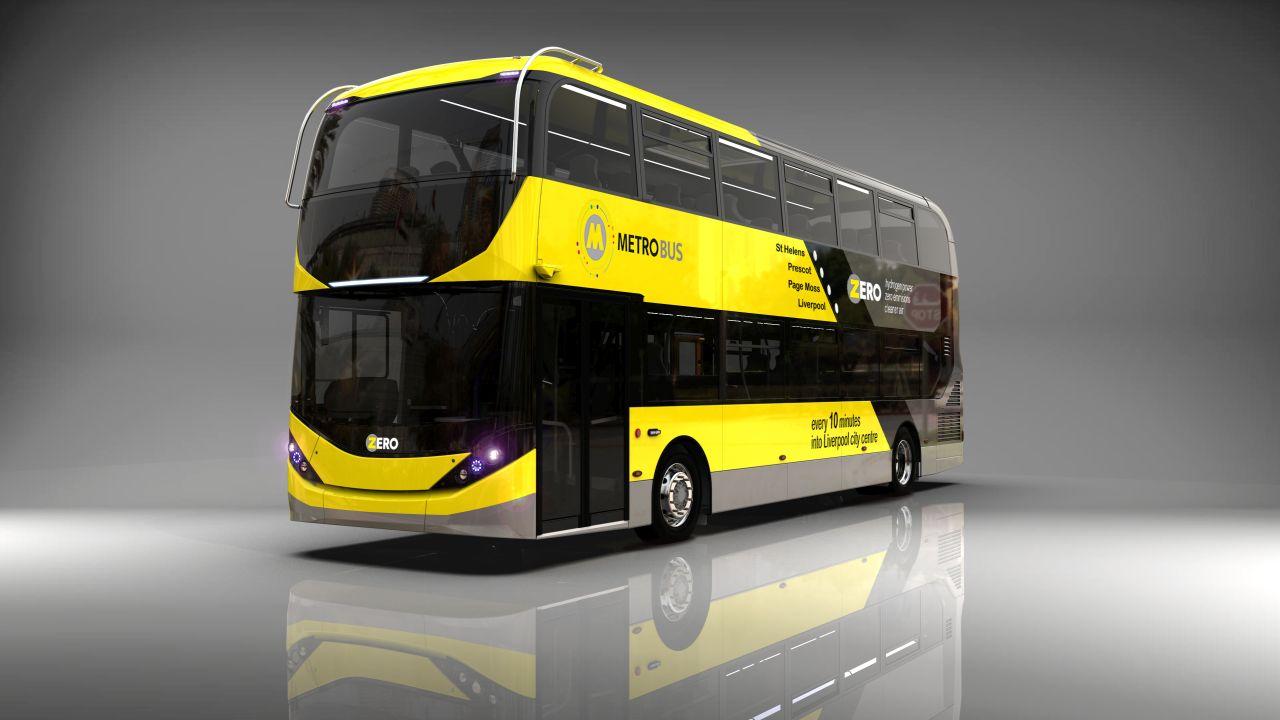 Vodíkový autobus ADL Enviro400FCEV. Foto: ADL