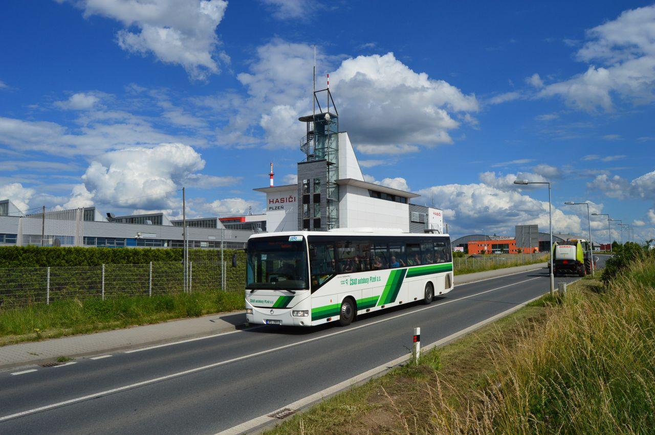 Autobus společnosti ČSAD autobusy Plzeň. Foto: Z Group bus
